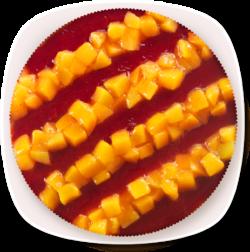 Тирольский пирог — Персик-Клубника